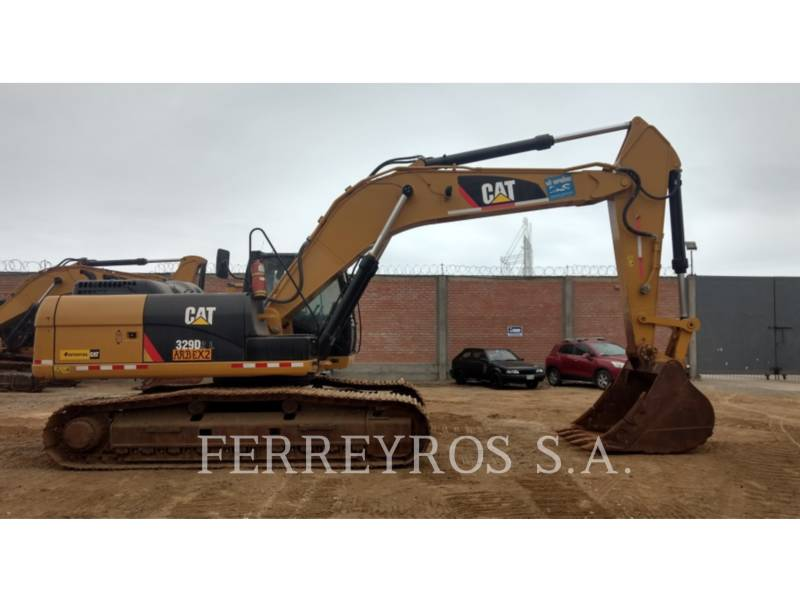 CATERPILLAR EXCAVADORAS DE CADENAS 329D2L equipment  photo 1