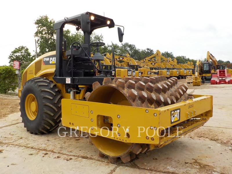 CATERPILLAR SOPORTE DE TAMBOR ÚNICO VIBRATORIO CP-56B equipment  photo 4