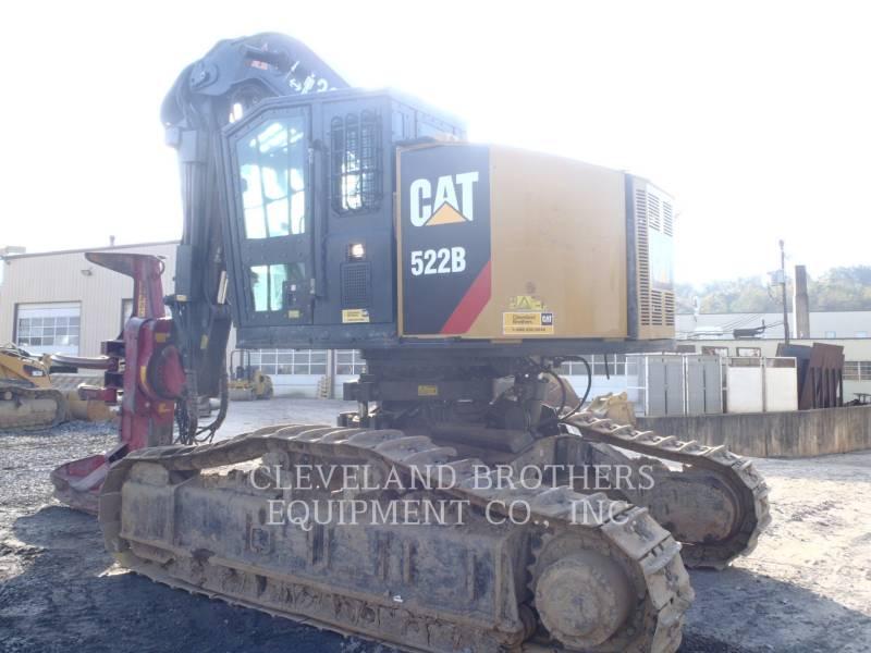 CATERPILLAR ATTIVITÀ FORESTALI - ABBATTITRICI/RACCOGLITRICI CINGOLATE 522B equipment  photo 4