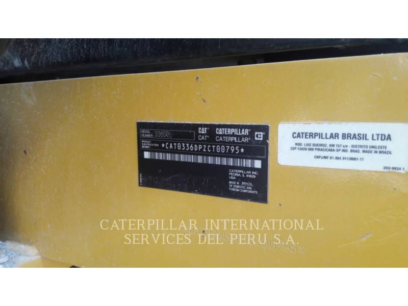 CATERPILLAR EXCAVADORAS DE CADENAS 336D2L equipment  photo 6