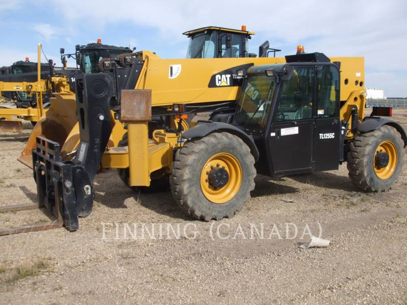 CATERPILLAR TELEHANDLER TL1255C equipment  photo 1