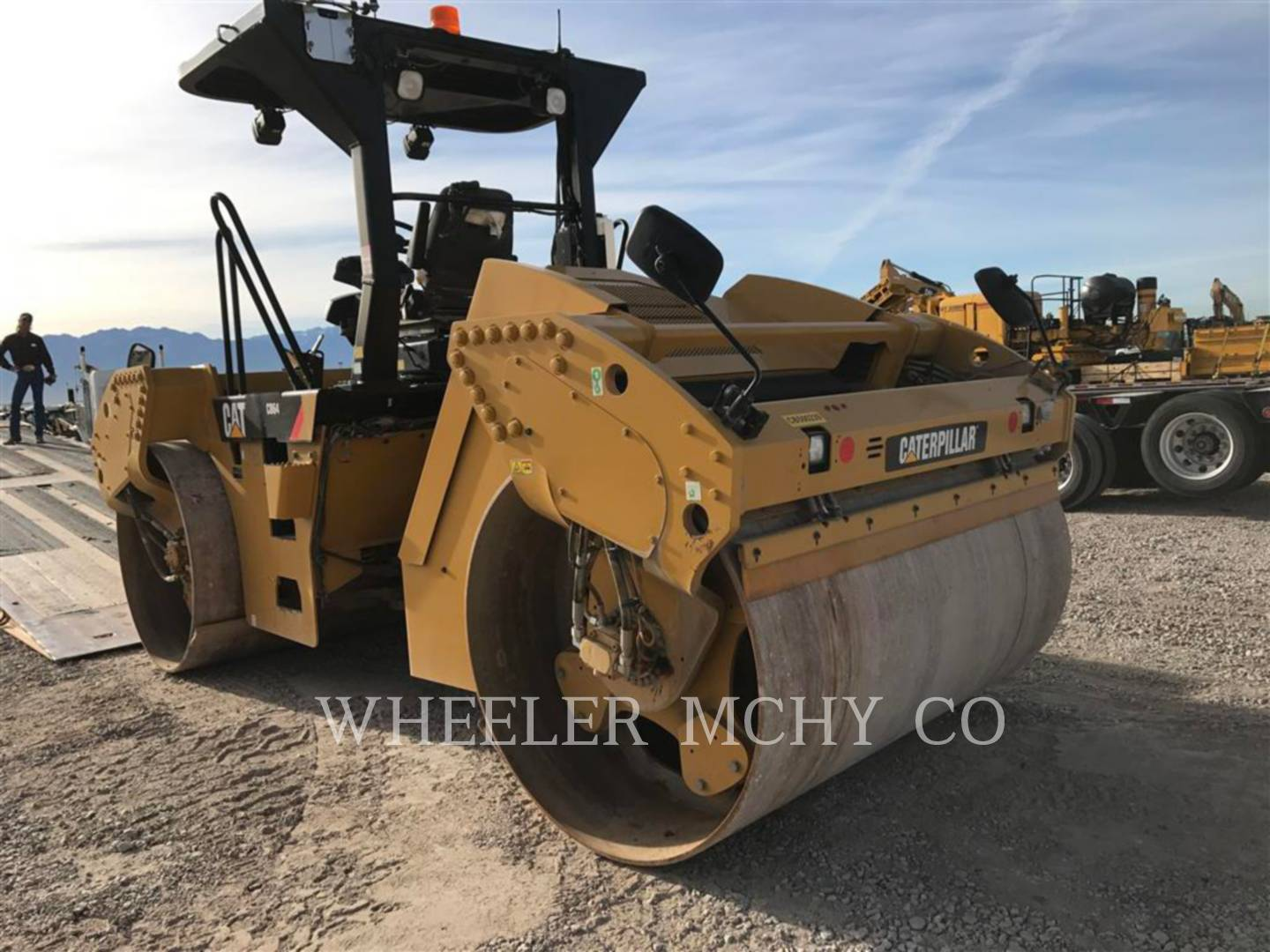 Detail photo of 2015 Caterpillar CB64 from Construction Equipment Guide