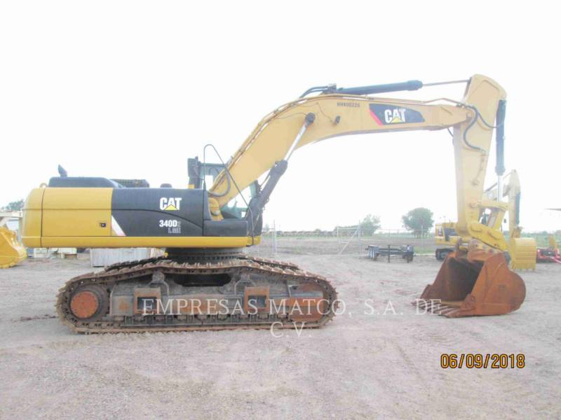 CATERPILLAR KETTEN-HYDRAULIKBAGGER 340D2L equipment  photo 1