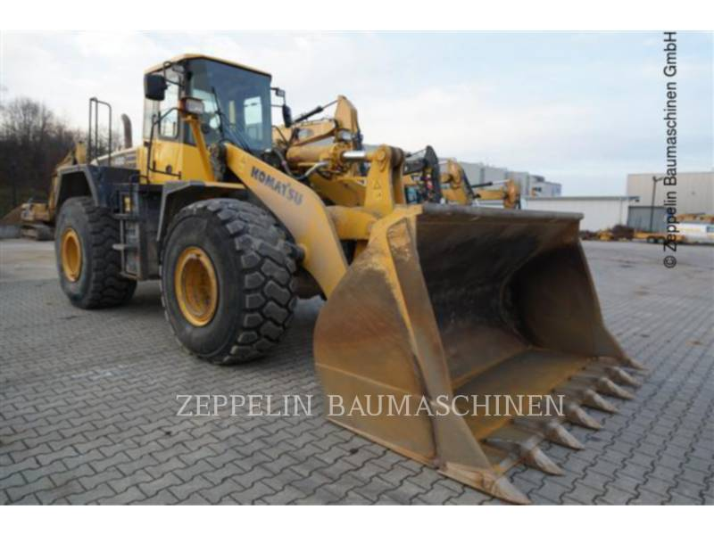 KOMATSU LTD. WHEEL LOADERS/INTEGRATED TOOLCARRIERS WA480-5 equipment  photo 5