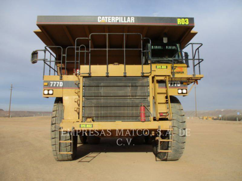 CATERPILLAR CAMIONES DE OBRAS PARA MINERÍA 777D equipment  photo 1