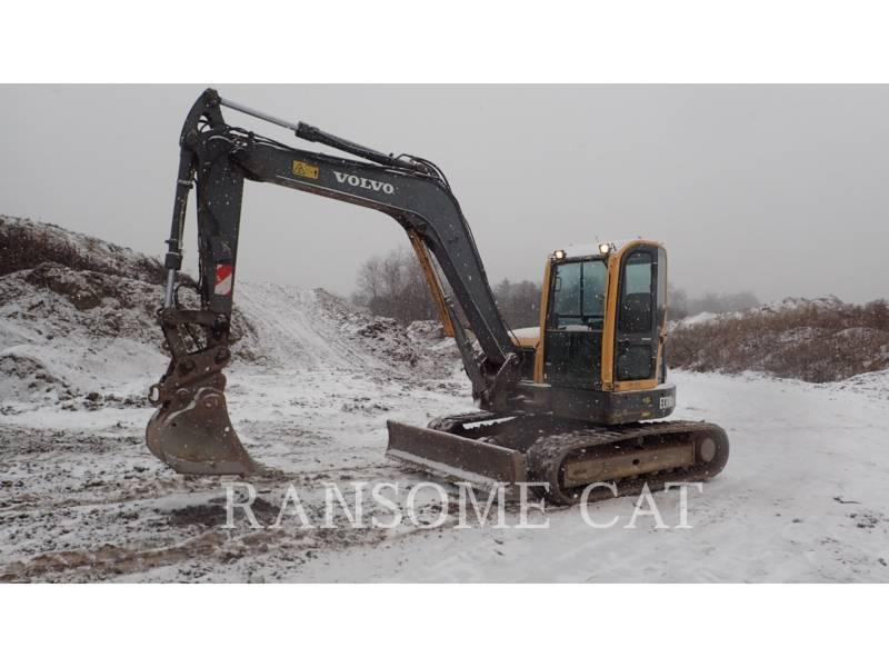 VOLVO KETTEN-HYDRAULIKBAGGER ECR88 equipment  photo 1