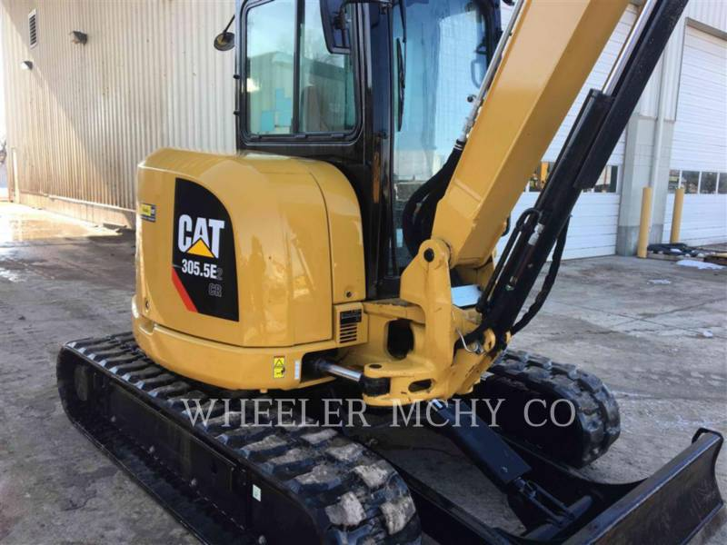 CATERPILLAR TRACK EXCAVATORS 305.5E2C3T equipment  photo 2