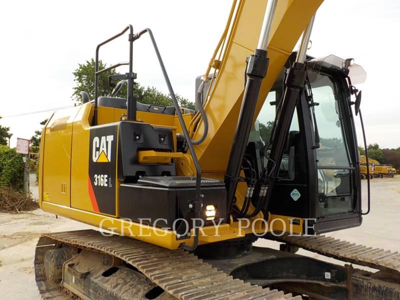 CATERPILLAR TRACK EXCAVATORS 316E L equipment  photo 5