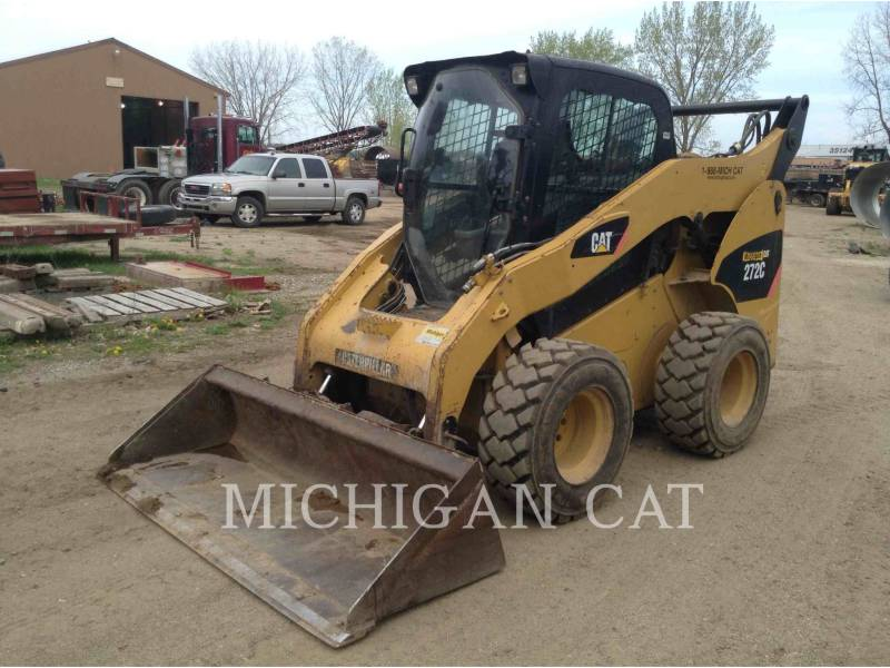 CATERPILLAR SKID STEER LOADERS 272C AQ equipment  photo 2