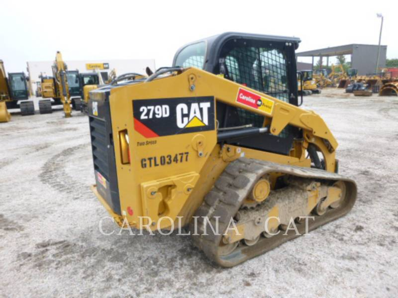 CATERPILLAR TRACK LOADERS 279D CB equipment  photo 6