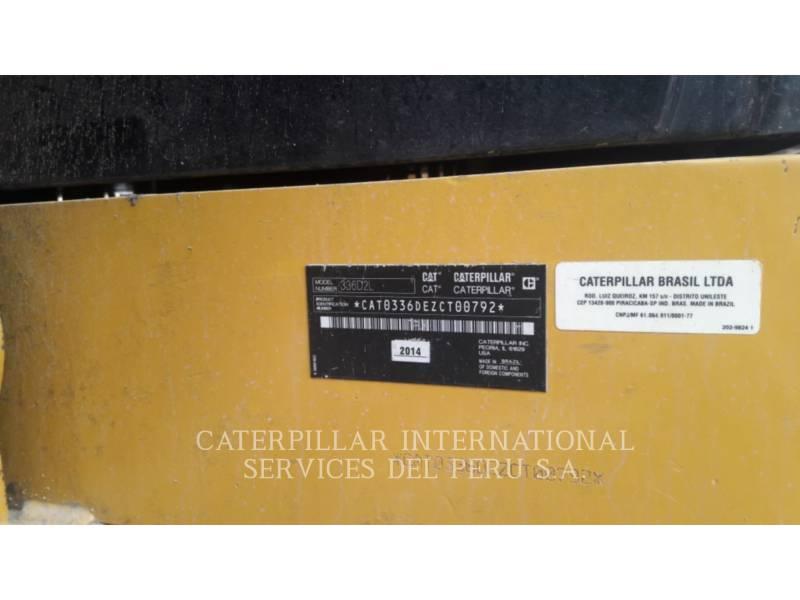 CATERPILLAR EXCAVADORAS DE CADENAS 336D2L equipment  photo 4
