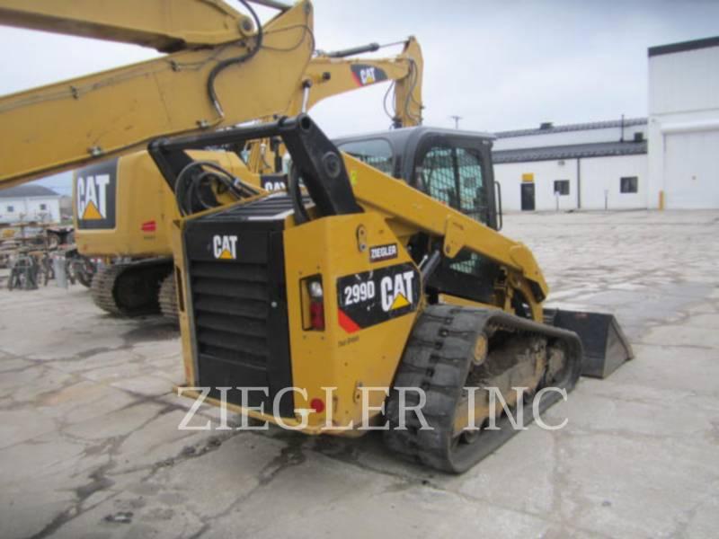 CATERPILLAR CARGADORES MULTITERRENO 299DS equipment  photo 2