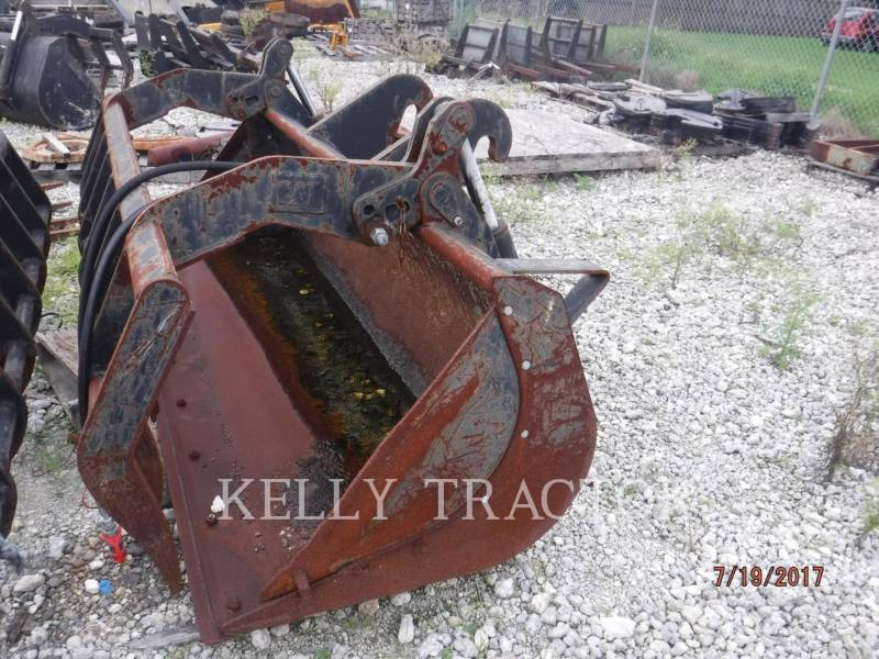 CATERPILLAR WT - GRAPPIN 1.1 CYD MULTI-GRAPPLE BUCKET FOR TELEHANDLERS equipment  photo 2