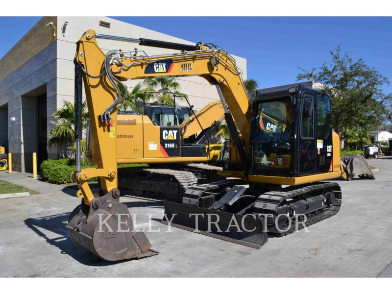 CATERPILLAR TRACK EXCAVATORS 307E2 equipment  photo 2