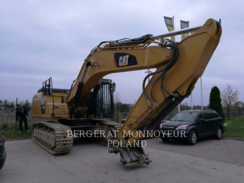 CATERPILLAR KETTEN-HYDRAULIKBAGGER 336F equipment  photo 2