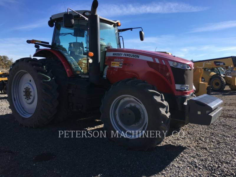 AGCO-MASSEY FERGUSON AG TRACTORS MF8660 equipment  photo 2