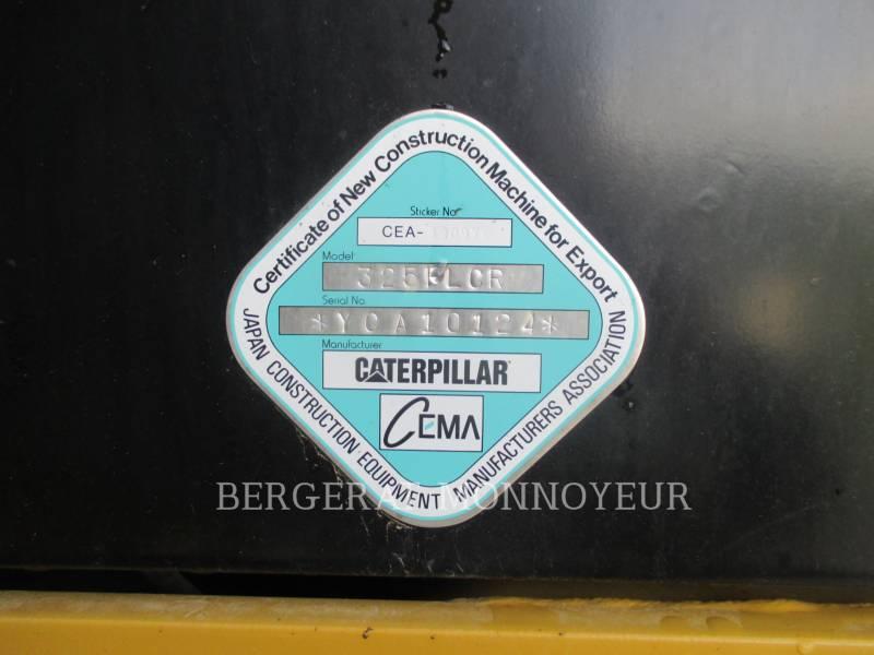 CATERPILLAR TRACK EXCAVATORS 325F CR equipment  photo 4