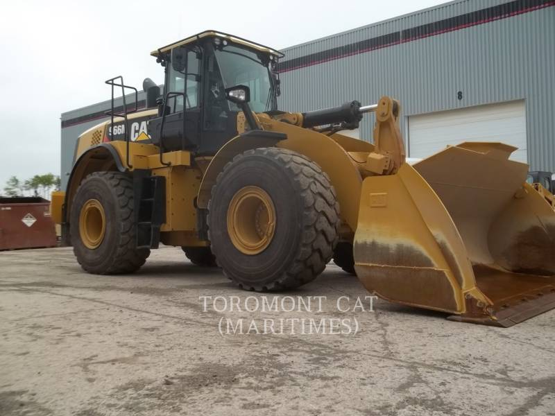 CATERPILLAR BERGBAU-RADLADER 966M equipment  photo 3