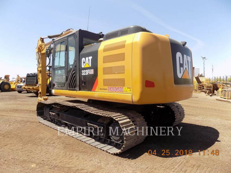 CATERPILLAR KETTEN-HYDRAULIKBAGGER 323FL equipment  photo 3
