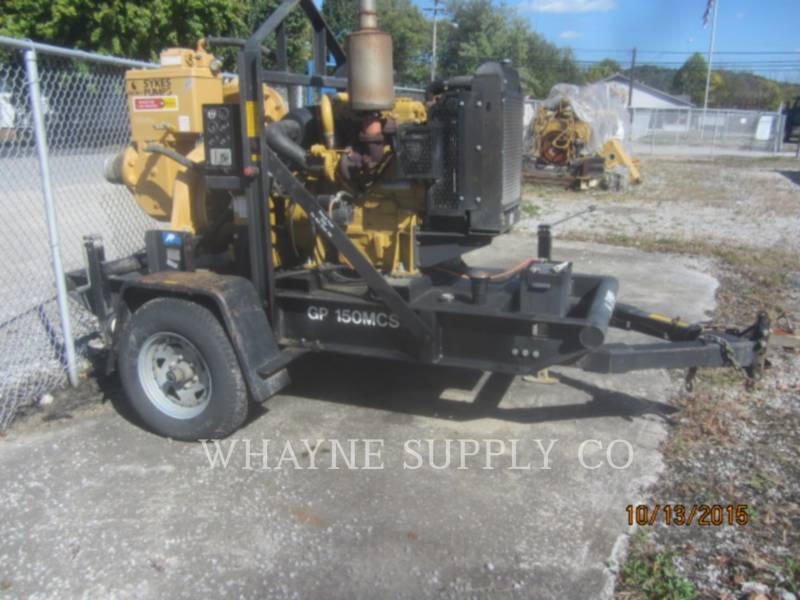 SYKES PUMPS WATER PUMPS / TRASH PUMPS GP150 equipment  photo 1