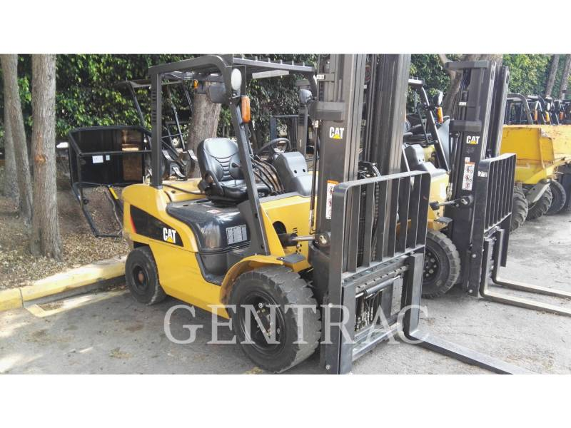 MITSUBISHI CATERPILLAR FORKLIFT CHARIOTS À FOURCHE GP35NM equipment  photo 4