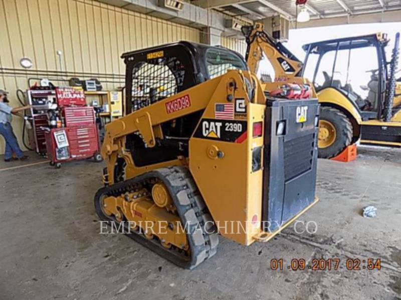 CATERPILLAR SKID STEER LOADERS 239D equipment  photo 3
