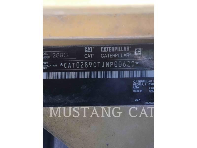 CATERPILLAR CARGADORES MULTITERRENO 289C equipment  photo 5