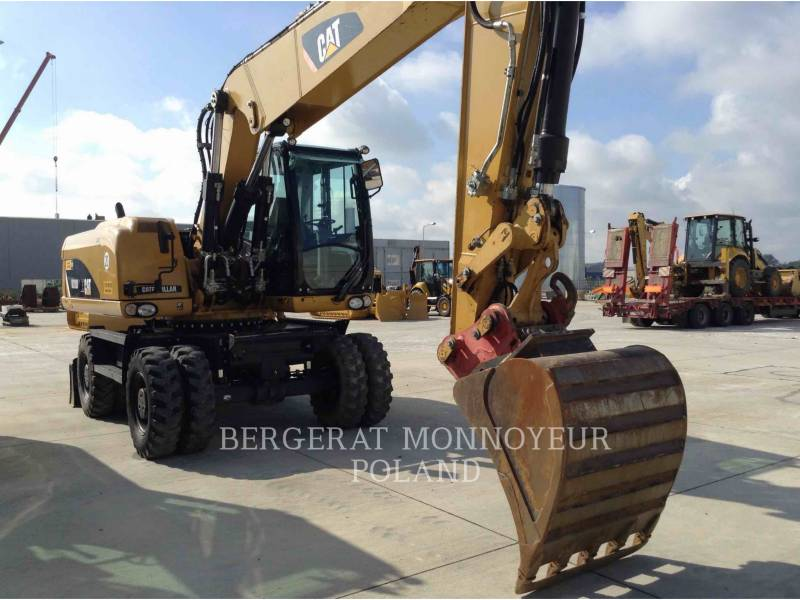 CATERPILLAR MOBILBAGGER M318D equipment  photo 2