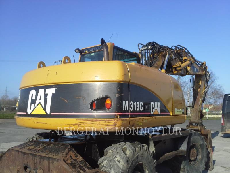 CATERPILLAR KOPARKI KOŁOWE M313C equipment  photo 5