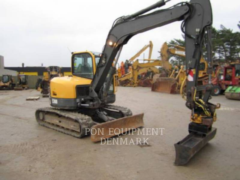VOLVO CONSTRUCTION EQUIPMENT TRACK EXCAVATORS ECR88 equipment  photo 6