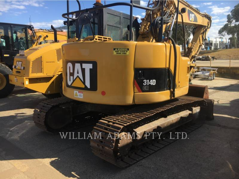 CATERPILLAR TRACK EXCAVATORS 314DCR equipment  photo 3