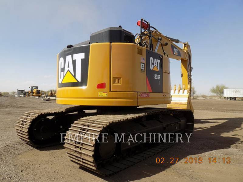 CATERPILLAR TRACK EXCAVATORS 335FLCR equipment  photo 2