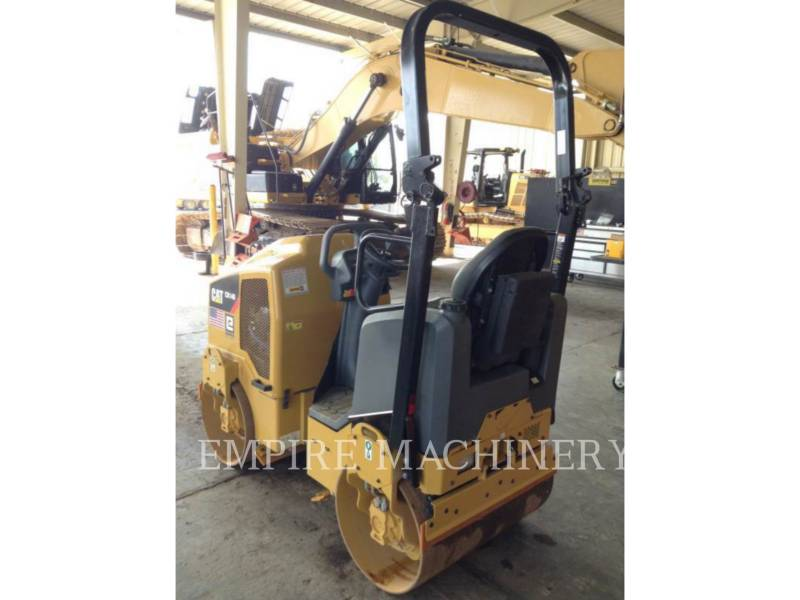 CATERPILLAR TAMBOR DOBLE VIBRATORIO ASFALTO CB14B equipment  photo 3