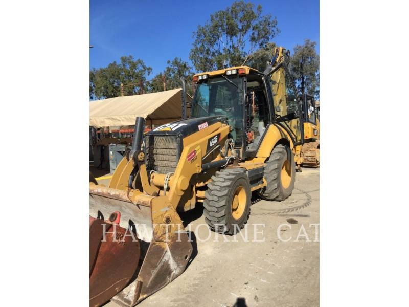 CATERPILLAR BAGGERLADER 450F equipment  photo 1