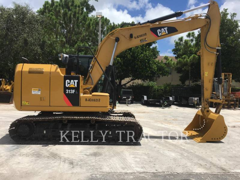 CATERPILLAR TRACK EXCAVATORS 313FL equipment  photo 6