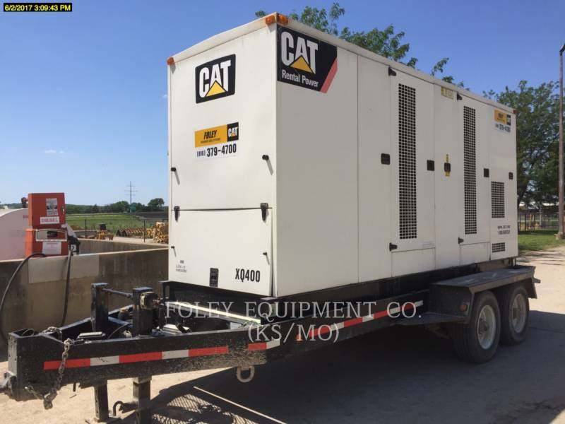 CATERPILLAR PORTABLE GENERATOR SETS XQ400 equipment  photo 3