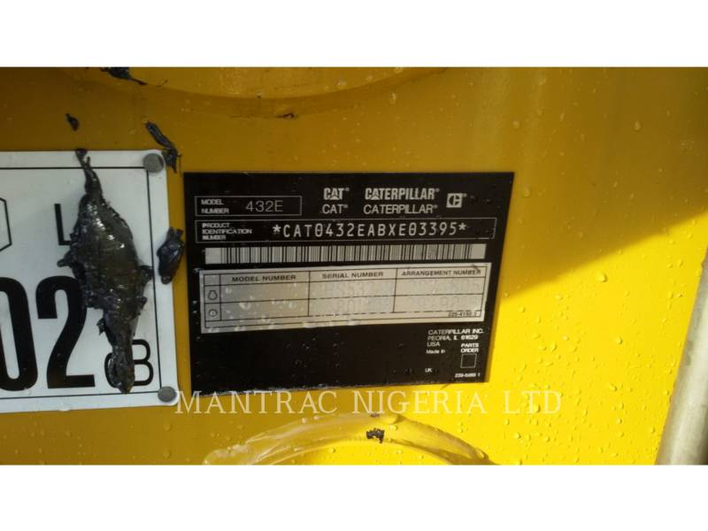 CATERPILLAR CHARGEUSES-PELLETEUSES 432 E equipment  photo 6