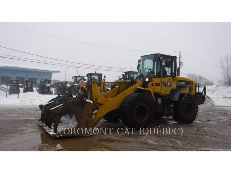 KOMATSU WHEEL LOADERS/INTEGRATED TOOLCARRIERS WA200 equipment  photo 1