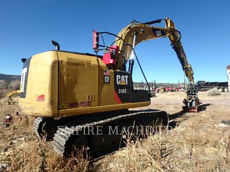 CATERPILLAR トラック油圧ショベル 316EL equipment  photo 6