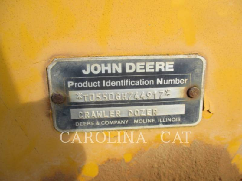 JOHN DEERE TRACK TYPE TRACTORS 550G equipment  photo 22