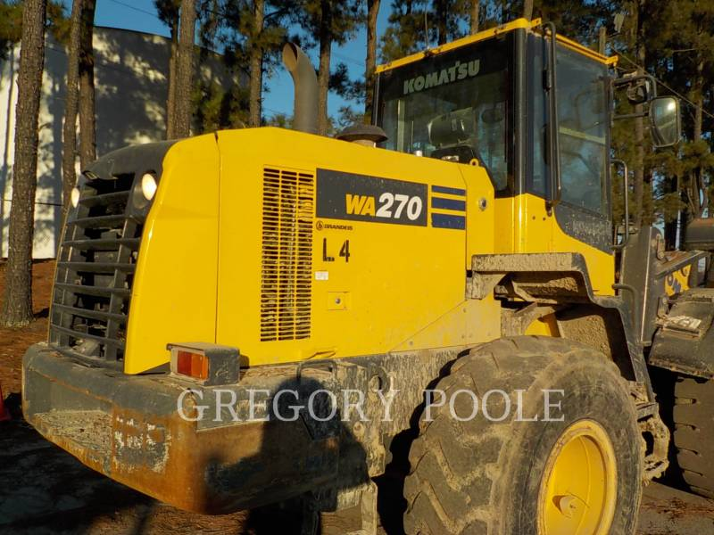KOMATSU WHEEL LOADERS/INTEGRATED TOOLCARRIERS WA270-7 equipment  photo 10