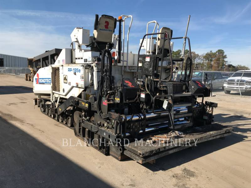 ROADTEC ASPHALT PAVERS RP - 195 E equipment  photo 1