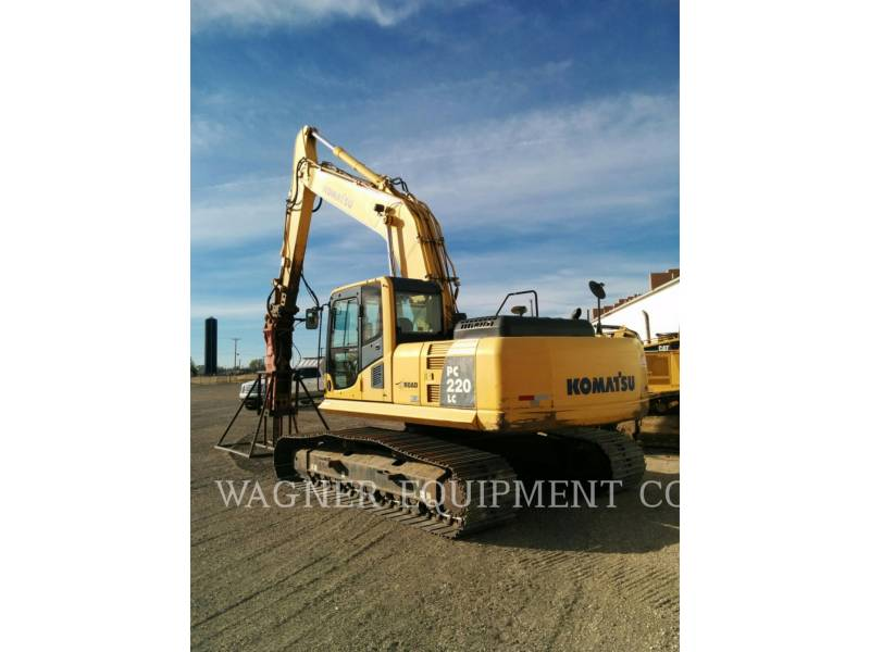 KOMATSU TRACK EXCAVATORS PC220LC-8 equipment  photo 9