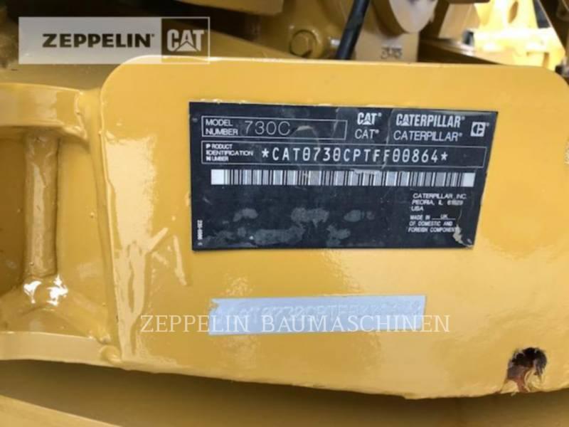 CATERPILLAR OFF HIGHWAY TRUCKS 730C equipment  photo 2