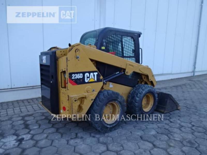 CATERPILLAR MINICARGADORAS 236D equipment  photo 4