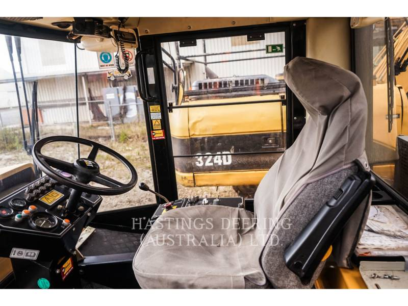 CATERPILLAR PNEUMATIC TIRED COMPACTORS PS-300C equipment  photo 14