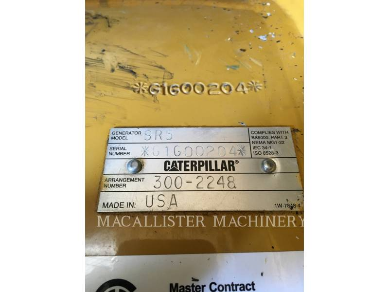 CATERPILLAR STATIONARY GENERATOR SETS C32 equipment  photo 10