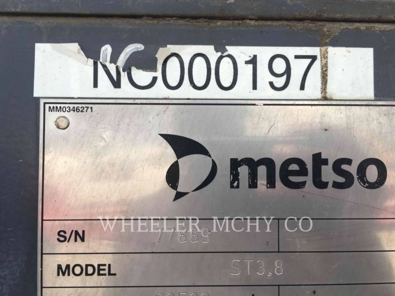 METSO SIEBE ST3.8 SCRN equipment  photo 2