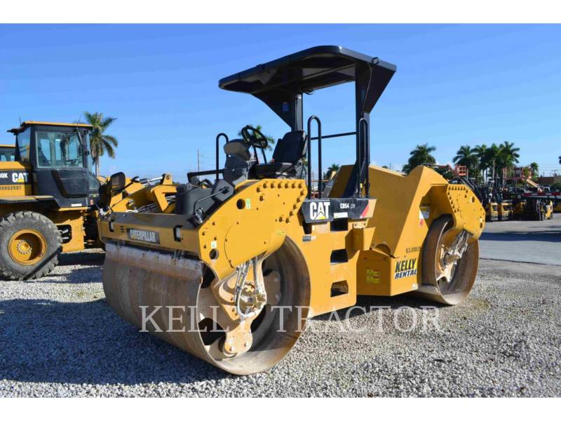 CATERPILLAR TANDEMVIBRATIONSWALZE, ASPHALT CB54 equipment  photo 2