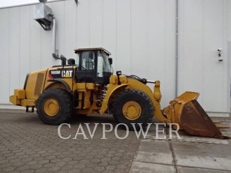 CATERPILLAR ŁADOWARKI KOŁOWE/ZINTEGROWANE NOŚNIKI NARZĘDZI 980M equipment  photo 1